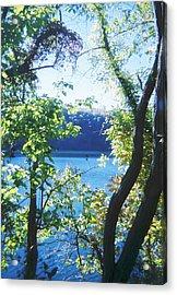 Mountain Lake Acrylic Print by Utopia Concepts