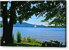Smith Mountain Lake Sailor Acrylic Print