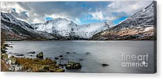 Mountain Landscape Acrylic Print by Adrian Evans