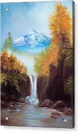 Mountain Majesty Acrylic Print by Joni McPherson