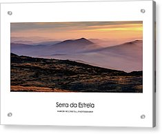 Acrylic Print featuring the photograph Mountain Mist Poster by Marion McCristall