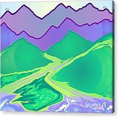 Mountain Murmurs Acrylic Print