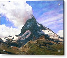 Acrylic Print featuring the photograph Mountain Of Mountains  by Connie Handscomb