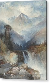 Mountain Of The Holy Cross Acrylic Print by Thomas Moran