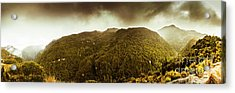 Mountain Of Trees Acrylic Print