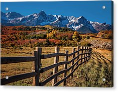 Acrylic Print featuring the photograph Mountain Pastures by Andrew Soundarajan
