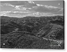 Mountain Paths Acrylic Print by Angelo DeVal