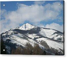 Mountain Peak Acrylic Print by Jewel Hengen