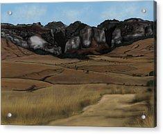 Mountain Plains Acrylic Print
