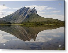 Mountain Reflection Acrylic Print by Tim Grams