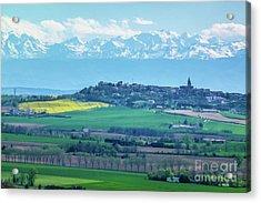 Mountain Scenery 17 Acrylic Print by Jean Bernard Roussilhe