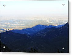 Mountain Shadow Acrylic Print
