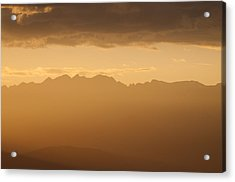 Acrylic Print featuring the photograph Mountain Shadows by Colleen Coccia