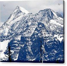 Mountain Snow Acrylic Print