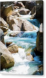 Mountain Spring Water Acrylic Print