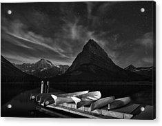 Mountain Stars Acrylic Print by Andrew Soundarajan