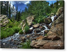 Mountain Stream 3 Acrylic Print by Pete Hellmann