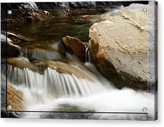 Mountain Stream B Acrylic Print by Robert Clayton