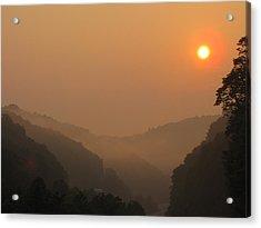 Mountain Sunrise 3 Acrylic Print