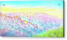 Mountain Sunrise Awakenings Acrylic Print