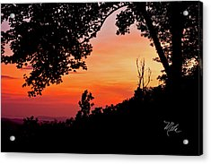 Mountain Sunrise Acrylic Print