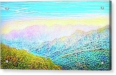 Mountain Sunrise Perceptions Acrylic Print