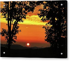 Mountain Sunset Acrylic Print