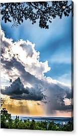Acrylic Print featuring the photograph Mountain Sunset Sightings by Shelby Young