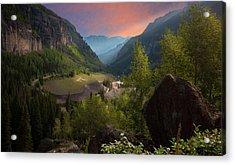 Mountain Time Acrylic Print
