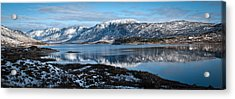 Mountain Tranquillity  Acrylic Print by Chris Boulton