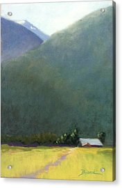 Mountain Valley Farm Acrylic Print