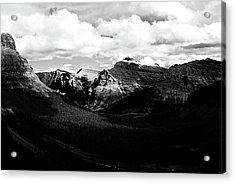 Mountain Valley Landscape Acrylic Print