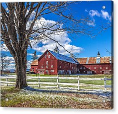 Mountain View Barn Acrylic Print