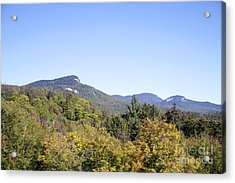 Mountain View Acrylic Print by Michael Mooney
