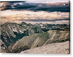Mountain Vista Acrylic Print by Garett Gabriel