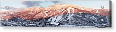 Acrylic Print featuring the photograph Mountain Werner  by Daniel Hebard