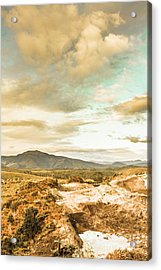 Mountainous Tasmania Scenery Acrylic Print by Jorgo Photography - Wall Art Gallery