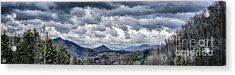 Acrylic Print featuring the photograph Mountains 1 by Walt Foegelle