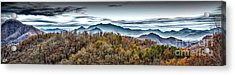 Acrylic Print featuring the photograph Mountains 2 by Walt Foegelle
