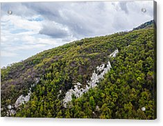 Mountains And Skies Acrylic Print by Andrea Mazzocchetti