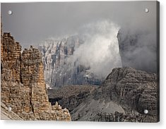 Mountains Depth 1150 Acrylic Print by Marco Missiaja