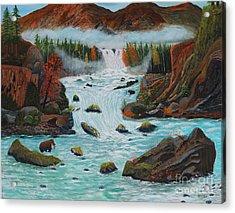 Mountains High Acrylic Print