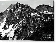 Mountains Acrylic Print by Juls Adams
