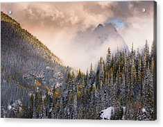 Mountains Light Acrylic Print