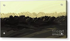 Mountains Of The Mohave Acrylic Print
