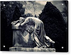 Mournful Acrylic Print by Jessica Jenney
