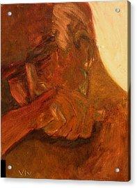 Mourning - Apres Paris Acrylic Print
