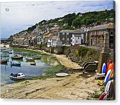 Mousehole Harbour, Cornwall Acrylic Print