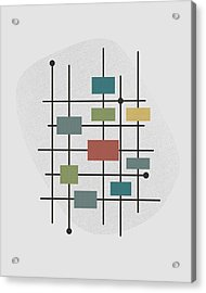 Movement - 1 Acrylic Print by Finlay McNevin