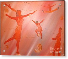 Movement Acrylic Print by Barbara Hayes